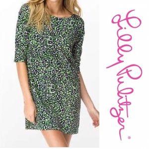 Lilly Pulitzer   RARE Leopard Print Dress